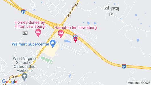 Fairfield Inn & Suites by Marriott Lewisburg Map