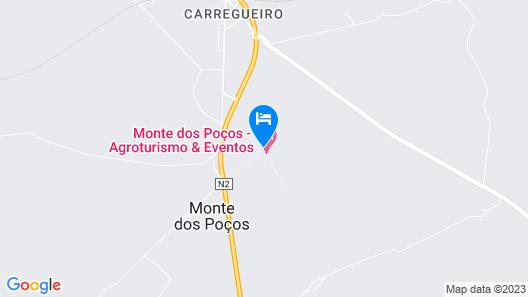 Monte dos Pocos Agroturismo Map