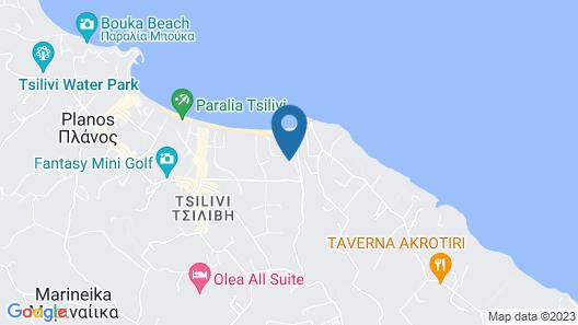 Lesante Classic - Preferred Hotels & Resorts Map