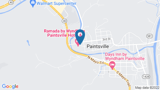 Ramada Hotel & Conference Center by Wyndham Paintsville Map