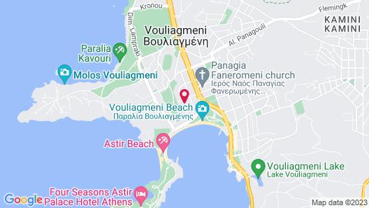 Azur Hotel Map