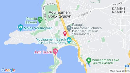 Athenian Riviera Hotel & Suites Map