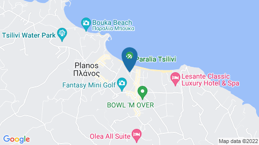 TUI SENSIMAR Zante Maris Hotel - All Inclusive Map