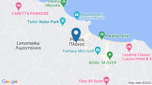 Azure Resort & Spa Ex. Mediterranee Map