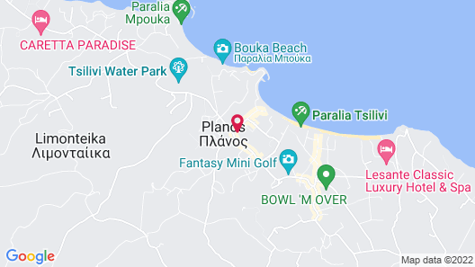 Hotel Contessina Map
