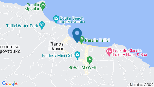 Andreolas Luxury Suites Map