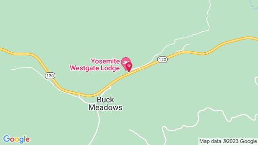 Yosemite Westgate Lodge Map