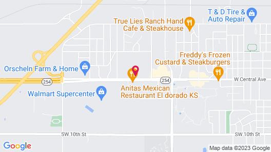 Super 8 by Wyndham El Dorado Map