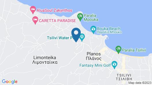 New Aqua Hotel Map