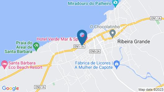 Hotel Verde Mar & SPA Map