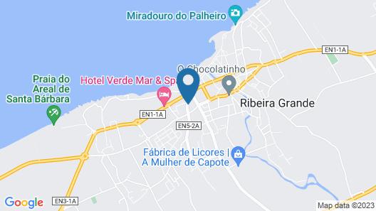 Margarida House - Stone Apartment Map