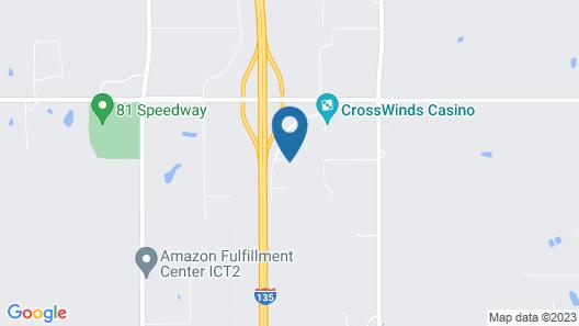 Motel 6 Valley Center, KS Map