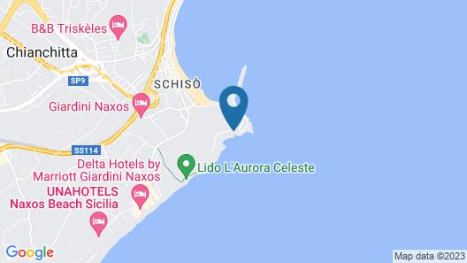 Arathena Rocks Hotel Map