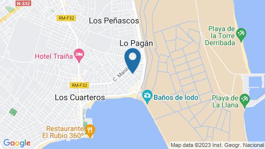 Hotel Paloma Map