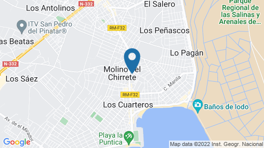 Aparthotel Bahía Map