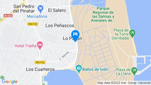 Hotel Lodomar Spa & Talasoterapia Map