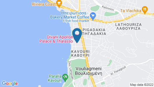 Divani Apollon Suites Map
