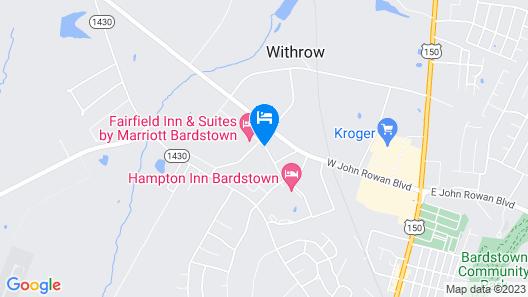 Fairfield Inn & Suites by Marriott Bardstown Map