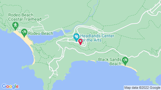 HI Marin Headlands Hostel Map