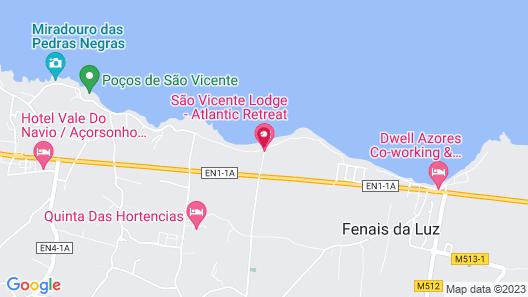 Pedras do Mar Resort & SPA Map