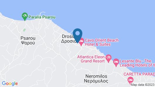 Tsamis Zante Hotel & Spa Map