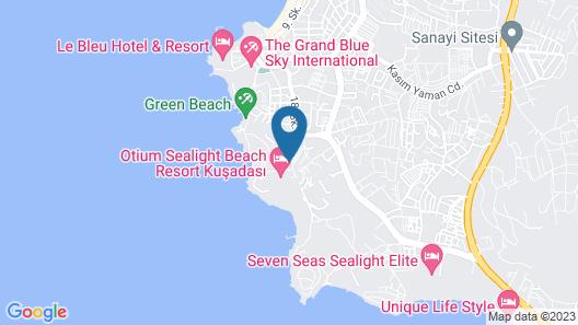 Sealight Family Club Map