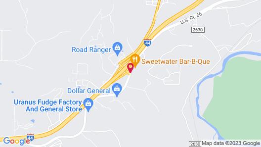 Best Western Montis Inn Map