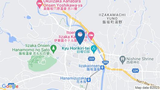 Ryokan Iseya Map