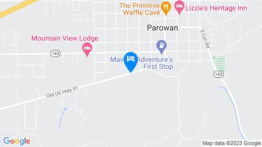 Crimson Hills Motel Map