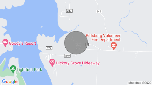 Come and Getaway at the Lake house. Map