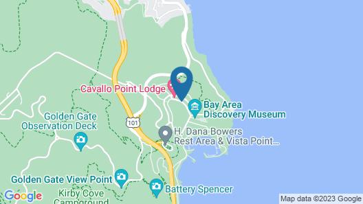Cavallo Point Map