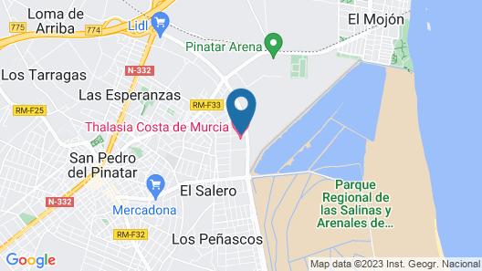 Thalasia Costa de Murcia Map