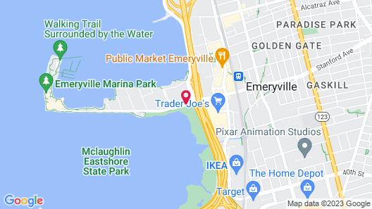 Hilton Garden Inn San Francisco/Oakland Bay Bridge Map