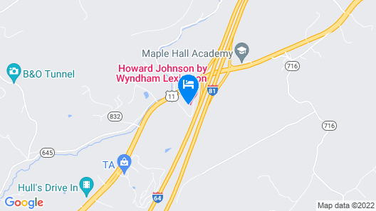 Howard Johnson by Wyndham Lexington Map