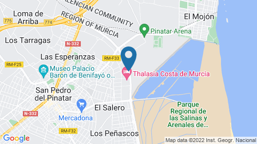 2 Bedrooms Apartment in San Pedro Map