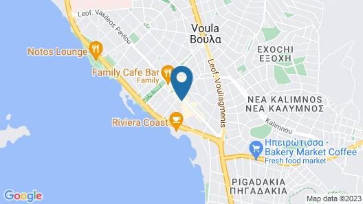 Voula Lofts Map