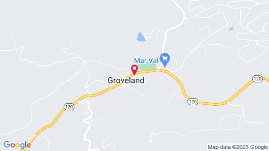 The Groveland Hotel Map