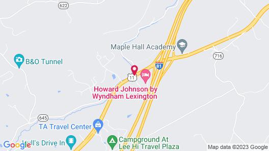 Days Inn by Wyndham Lexington Map