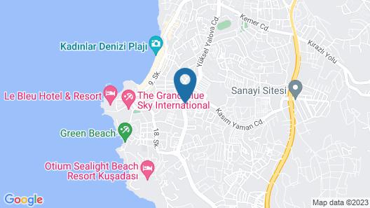 Palmin Hotel Map