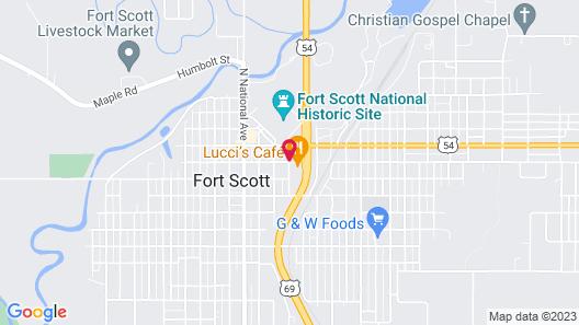 Fort Scott Inn Map