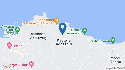 Ammoudi Harmony Villa Map
