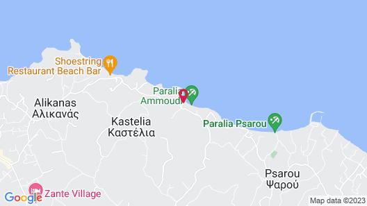 Calypso Villas Zakynthos Map