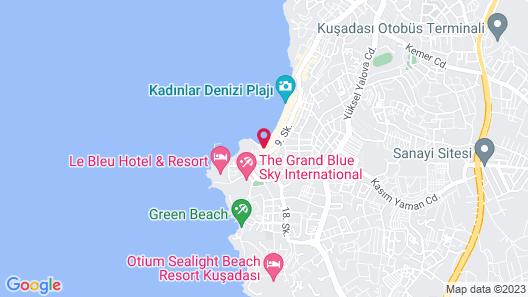 Marti Beach Hotel Map