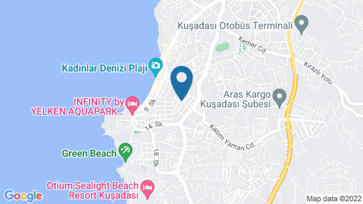 Gultepe Apartments Map