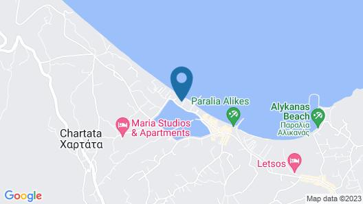 Zante Dolphin Map
