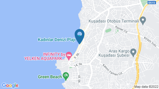 Sincer Otel Map