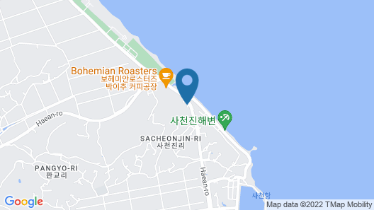 Gangnung SS Pension Map