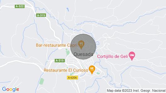 Rustic House in La Sierra De Cazorla Map