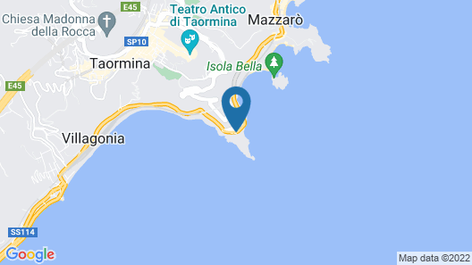 UNAHOTELS Capotaormina Map