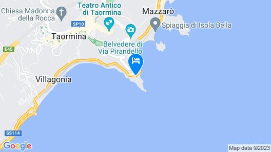 UNAHOTELS Capotaormina Map